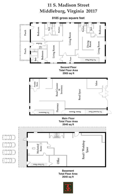 Thomas talbot property detail for Pharmacy floor plan