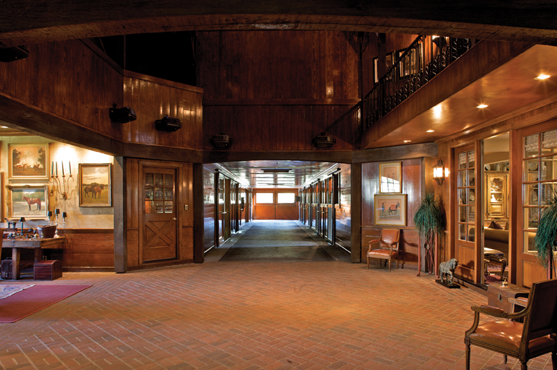 ... Washer And Dryer, Air Conditioned Tack Room With Custom Milled Bridle  And Saddle Racks, Tremendous Hay Storage Area, And Two Heated Storage Rooms.